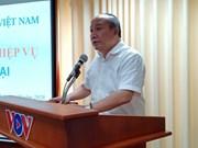 Khai giảng lớp bồi dưỡng nghiệp vụ báo chí hiện đại tại VOV TPHCM